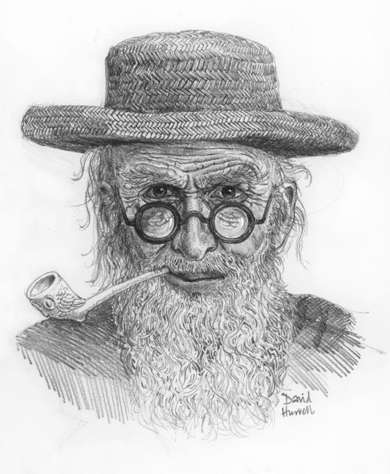 The imaginative artist's identikit picture | David Hurrell