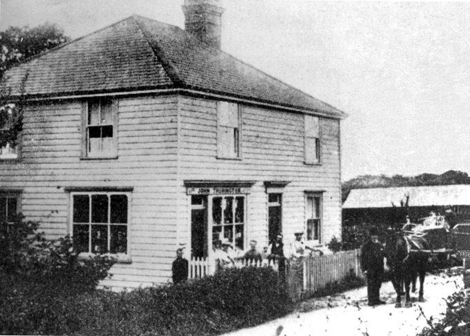 John Thorington, The Homestead, Hart Road, opp. Woodman | Derek Barber