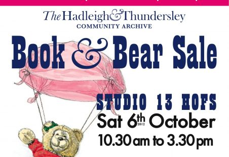 Art Trail Starts with a Book and Bear Sale
