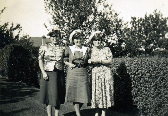 Kathleen Antill, Doris Hawks & May Coleman | Ian