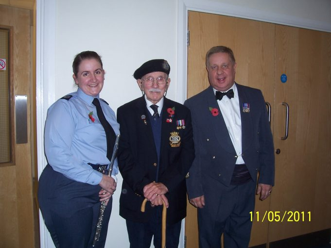 Laura, Ian and Graham Sheldon, RAF Bandmaster | Bridget Underwood