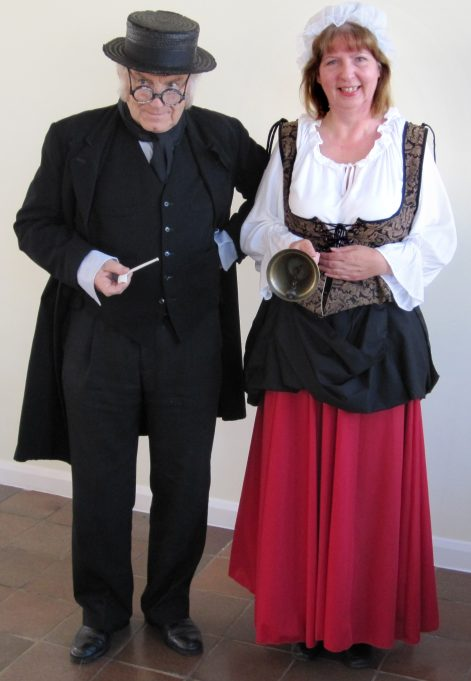 With 'wench' Lyn Manning | Tony Manning