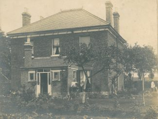 The rear of Manor Lodge on Rayleigh Road