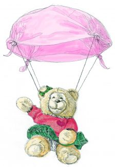 Marilyn, the Fayre Bear of Hadleigh, see her at Hadleigh Old Fire Station 2-5pm, Saturday 23rd June 2012