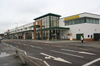 Morrisons opening day view from East | Bill Clements