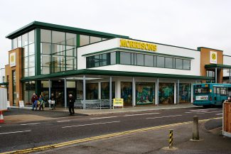 Morrisons opening day west view | Bill Clements