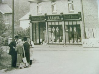 A.R.Adams outside the Rayleigh Road, Thundersley branch.