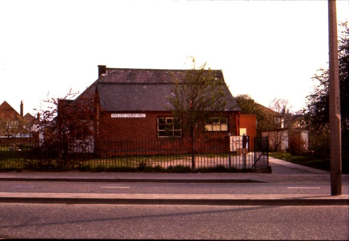 The Church School, used as a church hall, in 1976 | Ian Hawks