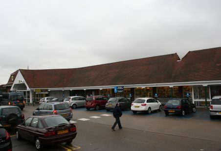 Morrisons; the old and the new