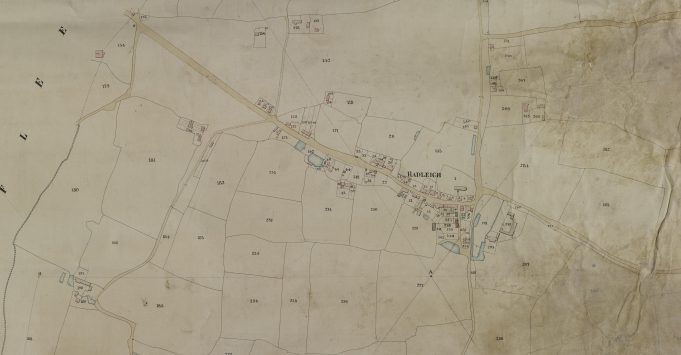 Hadleigh Tithe Map 1847 | Copyright Essex Records Office