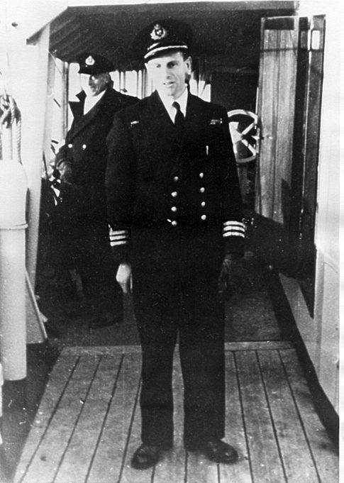 Peter de Neumann, Commander HMRC Vigilant c.1950