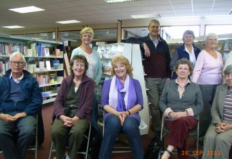 Poetry Reading at Hadleigh Library