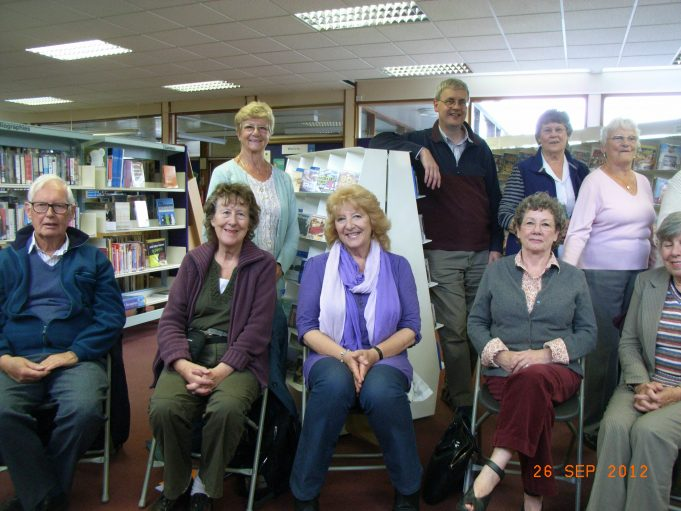 Poetry Reading Hadleigh Library   Dorothy Turner