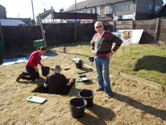 Council Leader Colin Riley Visits the Dig in Progress | AGES AHA