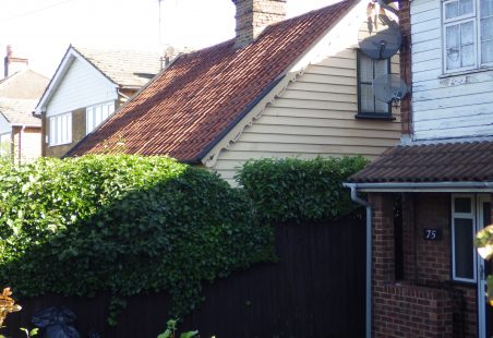 A Timber Boarded Cottage in London Road Hadleigh