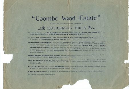 Combe Wood Estate Brochure