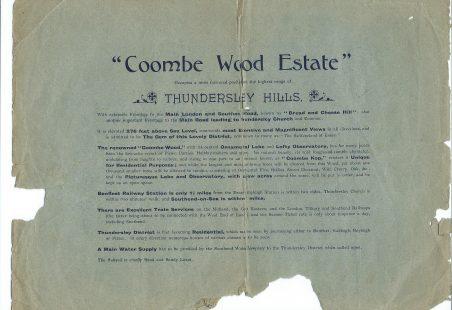 Coombe Wood Estate Brochure