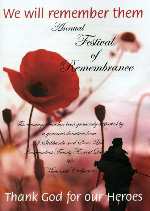 2011 Remembrance Concert