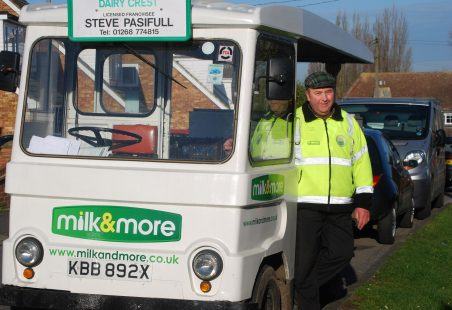 A Thundersley Village Milkman