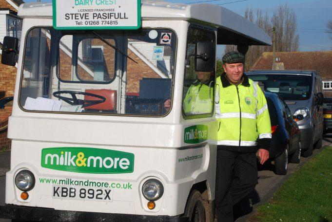 A Thundersley Village Milkman | Ian Hawks