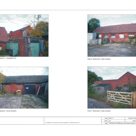 Various Sayers Farm Buildings See article -