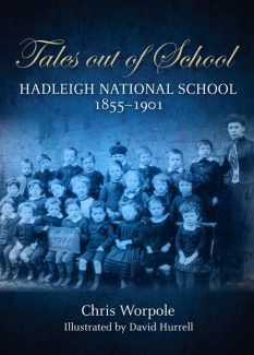 Tales out of School book cover | Designed by Ian Hughes