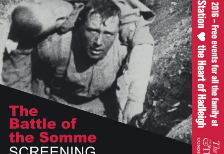 The Battle of the Somme Film 100th Anniversary Showing in Hadleigh