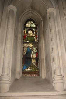 St. Anne window, Christ Church Cathedral, Dublin | Chris Worpole