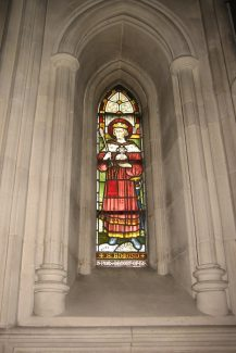 St. Edmund window designed by G. E. Street, Christ Church Cathedral, Dublin | Chris Worpole