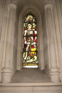 St. George window designed by G. E. Street, Christ Church Cathedral, Dublin | Chris Worpole