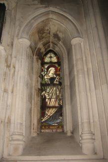 St. Mary window, Christ Church Cathedral, Dublin | Chris Worpole