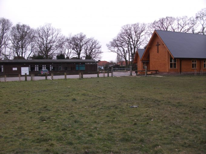 Site of proposed Ages Test Pit at St Michael's Field | Terry Barclay