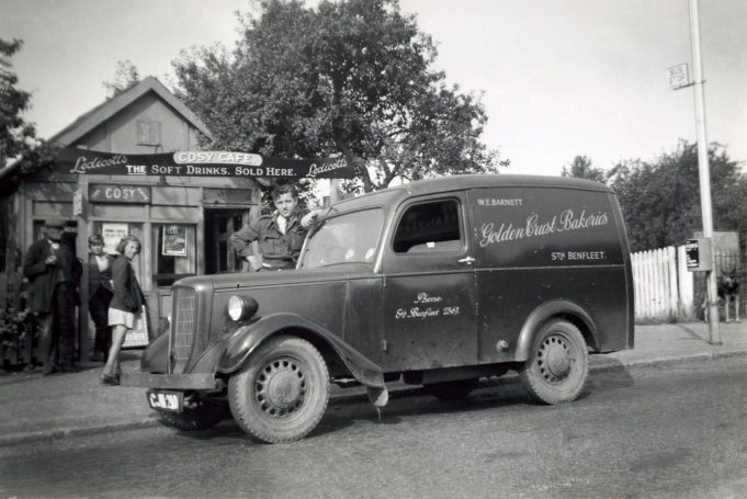 Stock's Cafe Woodman's Corner (?) | Derek Barber Collection