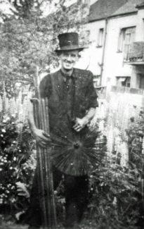 Mr Harding, the chimney sweep | Derek Barber Collection