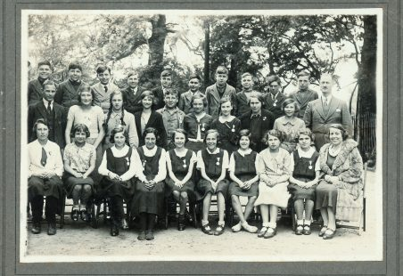 The class of '32, Thundersley School