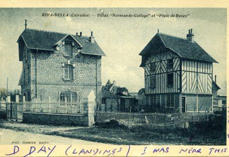 """Riva-Bella (Calvados) - Villas """"Normandy-Cottage"""" et """"Pluie de Roses"""""""