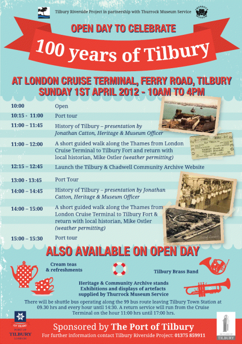 Tilbury & Chadwell Community Archive Launch