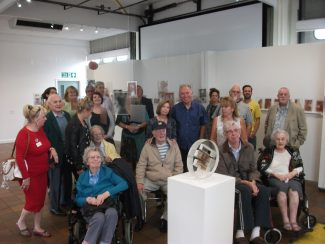 Family History Meets Art -  Exhibition, Hadleigh Old Fire Station September 2014