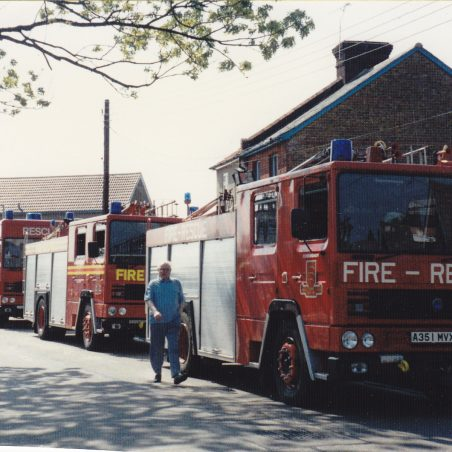 Waggon and Horses fire June 1988_0002 | Nick Blackall