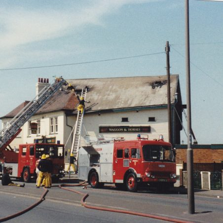 Waggon and Horses fire June 1988_0003 | Nick Blackall