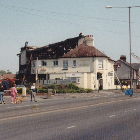 Waggon and Horses fire June 1988_0004 | Nick Blackall