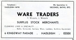 Advertisement 1953