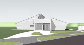 Proposed Woodland Resource Centre | Louise Morris