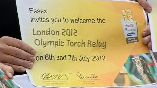 The 2012 Olympic torch relay will travel to 17 Essex towns and villages | www.bbc.co.uk/news/uk-england-essex-15519691