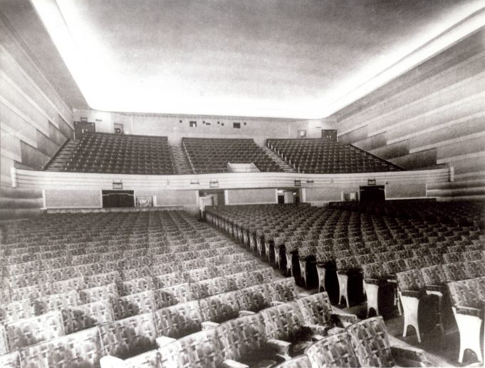 Hadleigh Kingsway Cinema 1935 interior | Alice Chafer