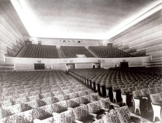 Hadleigh Kingsway Cinema 1935 interior | Alice Chafer