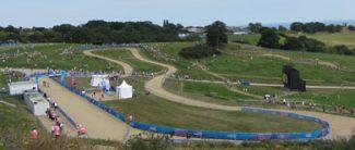 The Mountain Bike course at Hadleigh Farm   www.salvationarmy.org.uk/uki/OlympicMountainBiking