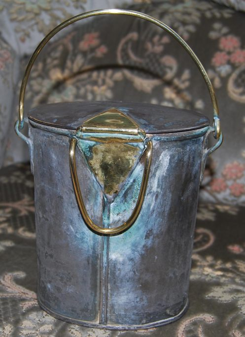 Pewter milk can | Ian Hawks
