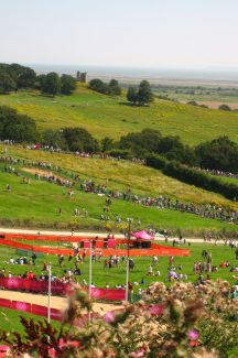 Hadleigh Castle from the Olympic venue | Chris Worpole
