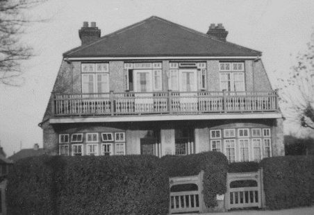 Inglewood, London Road, Hadleigh, Essex, family home of Henry Rayner to 1958